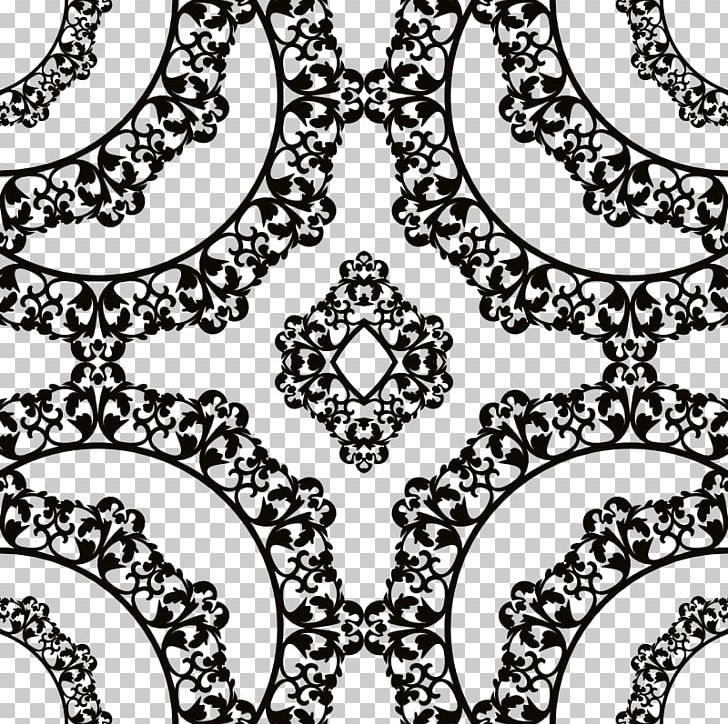Foulard Pattern Product Clothing Accessories Scarf PNG, Clipart, Area, Black, Black And White, Business, Circle Free PNG Download