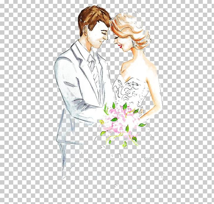 Marriage Drawing Engagement Sketch Png Clipart Bride Cartoon