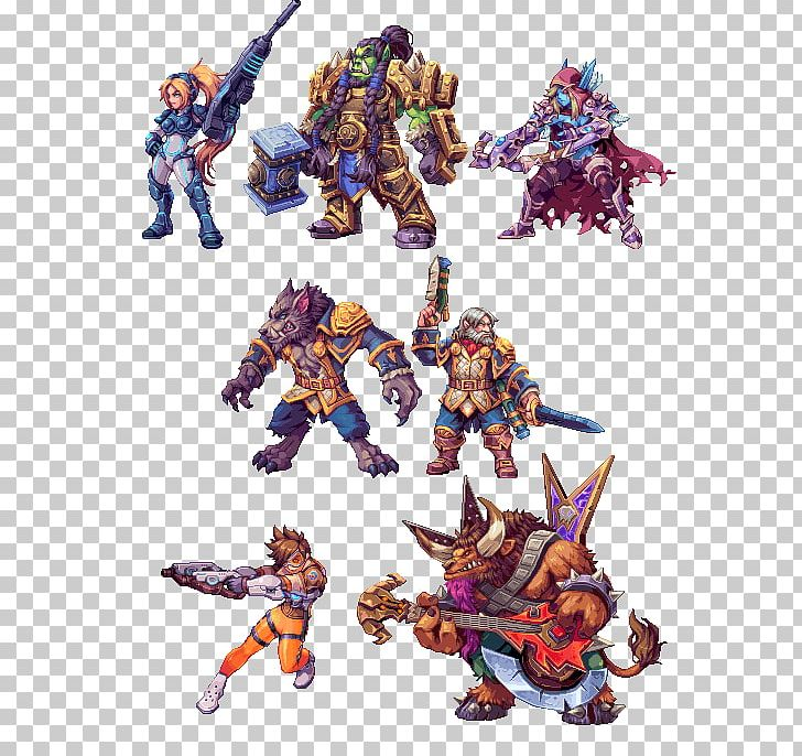 Heroes Of The Storm StarCraft Blizzard Entertainment Sprite Video