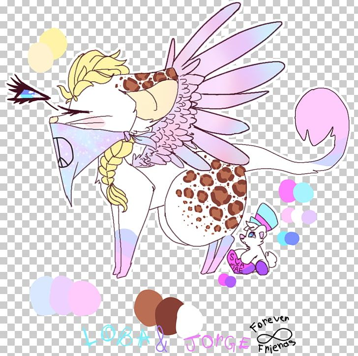 Illustration Horse Fairy Flowering Plant PNG, Clipart, Angel, Animals, Art, Cartoon, Creativity Free PNG Download