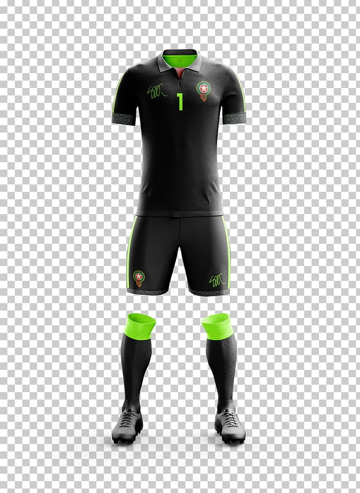 finest selection b9f2f 5c5d7 Morocco National Football Team 2018 World Cup Kit Jersey PNG ...