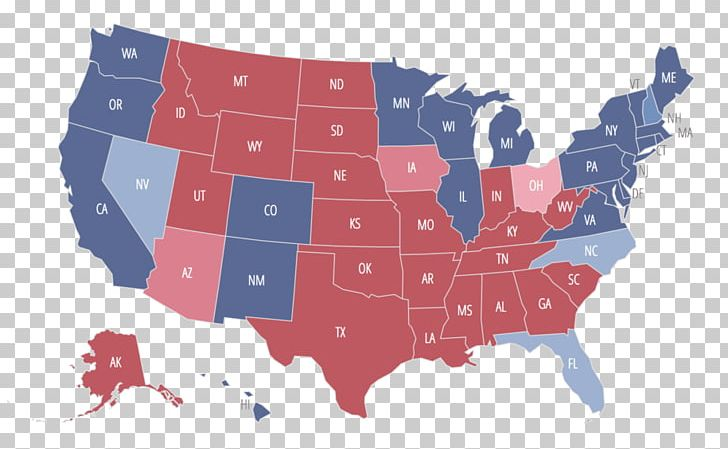 United States Voting Us Presidential Election 2016 Electoral College - Electoral-college-map-us