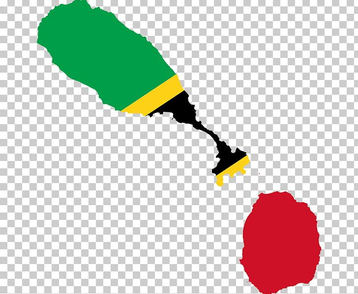 Flag Of Saint Kitts And Nevis Flag Of Saint Kitts And Nevis ...
