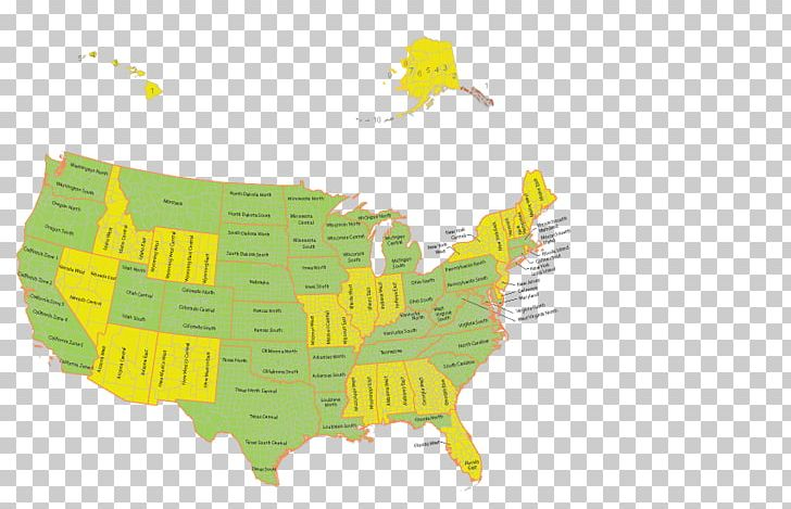 Time Zone Indiana Map Arizona State Plane Coordinate System ...