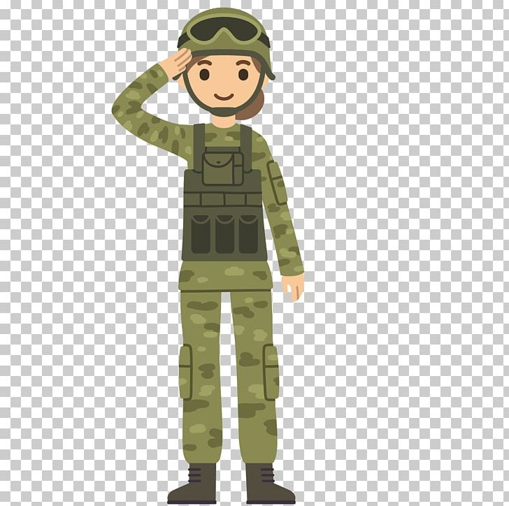 Soldier Salute Cartoon Army PNG, Clipart, Army Men, Army