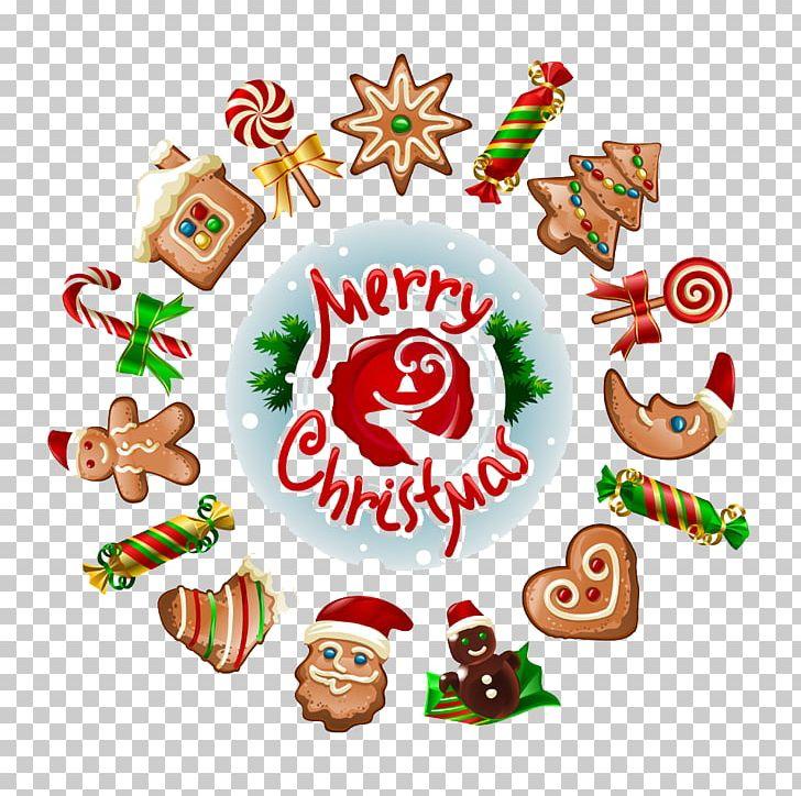 Christmas Gingerbread House Cartoon.Gingerbread House Santa Claus Christmas Gingerbread Man Png