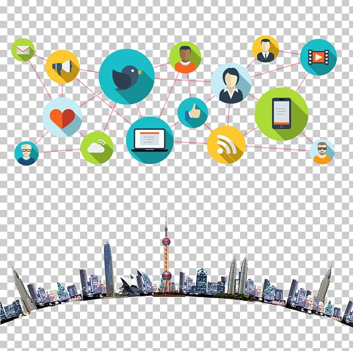 Social Media Communication Customer Relationship Management Icon PNG, Clipart, Cartoon, Circle, City, City Silhouette, City Skyline Free PNG Download