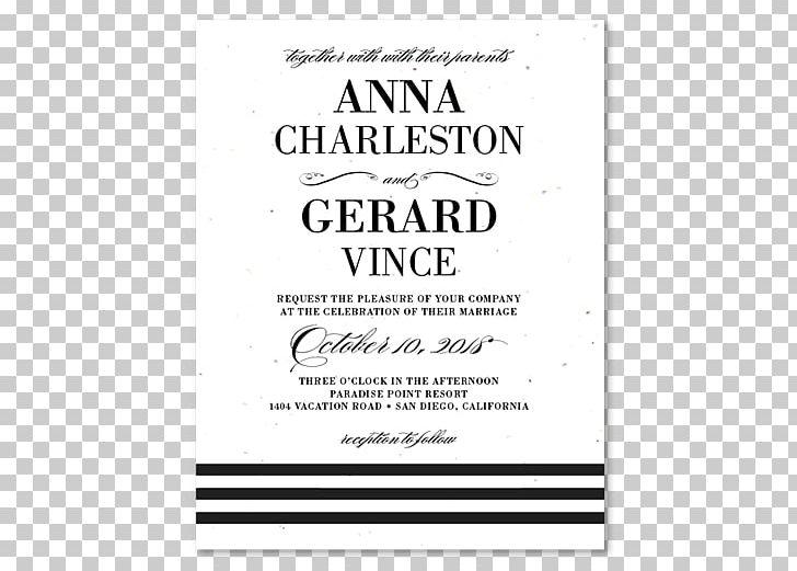 Wedding Invitation Paper White Tie Black Tie Png Clipart