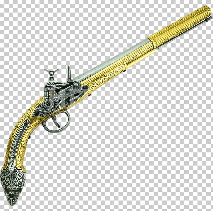 Trigger Firearm Flintlock Gun Barrel Miquelet Lock PNG