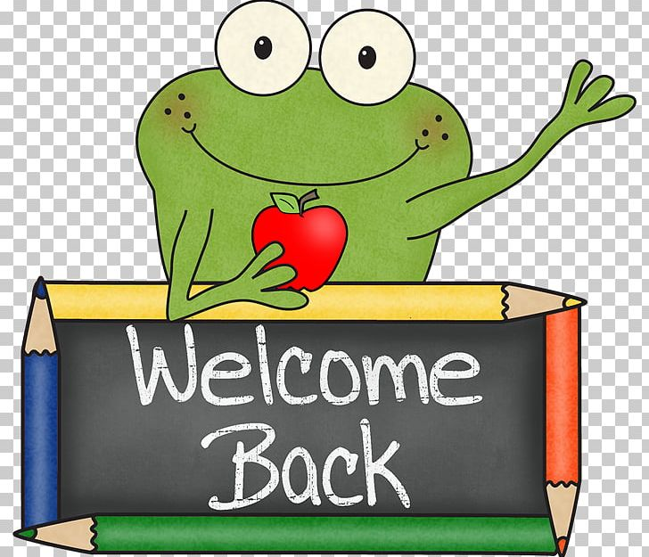 Image result for frog welcome back clipart