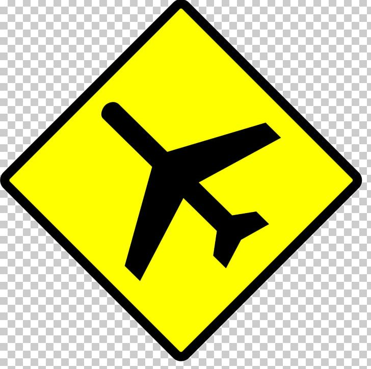 Aircraft Airplane Flight Traffic Sign Warning Sign PNG