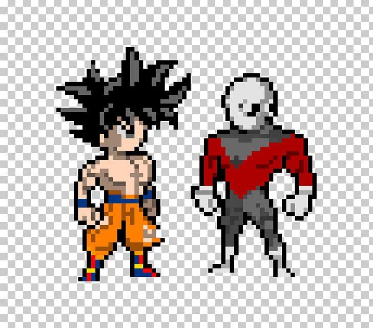 Goku Pixel Art Png Clipart Art Cartoon Character
