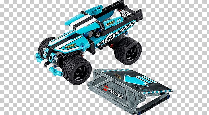 LEGO Technic Rally Car Toy Racing Building Construction Set Game Pull Back Motor