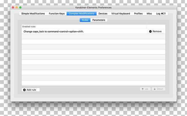 Computer Keyboard Command Key Computer Program Screenshot