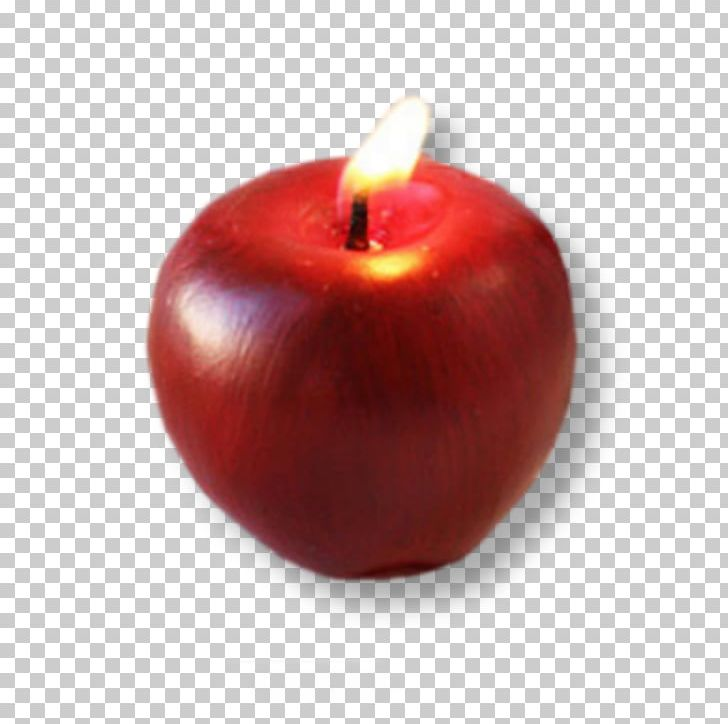 Apple Candle Bonjour Png Clipart Accessory Fruit Adobe