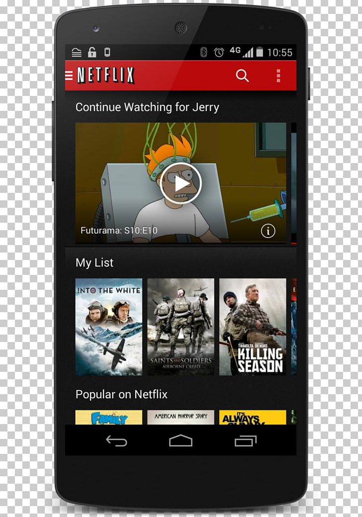 Android Netflix Mobile App Synonyms And Antonyms Samsung Galaxy S7