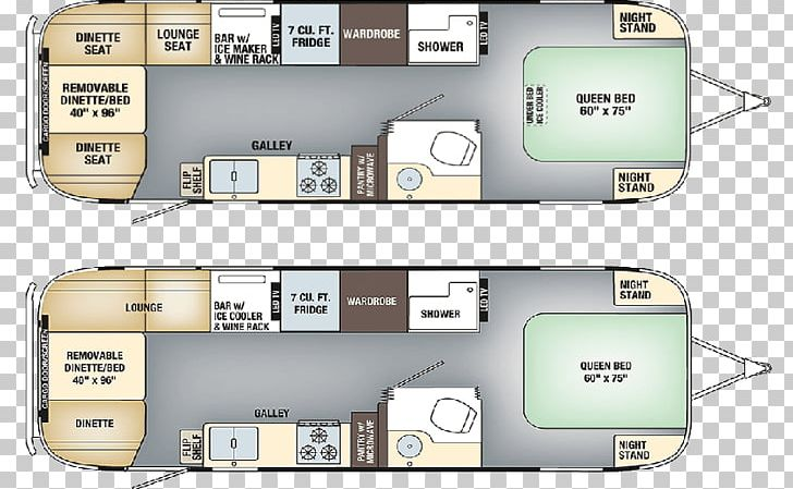 Floor Plan Airstream Caravan Motorhome