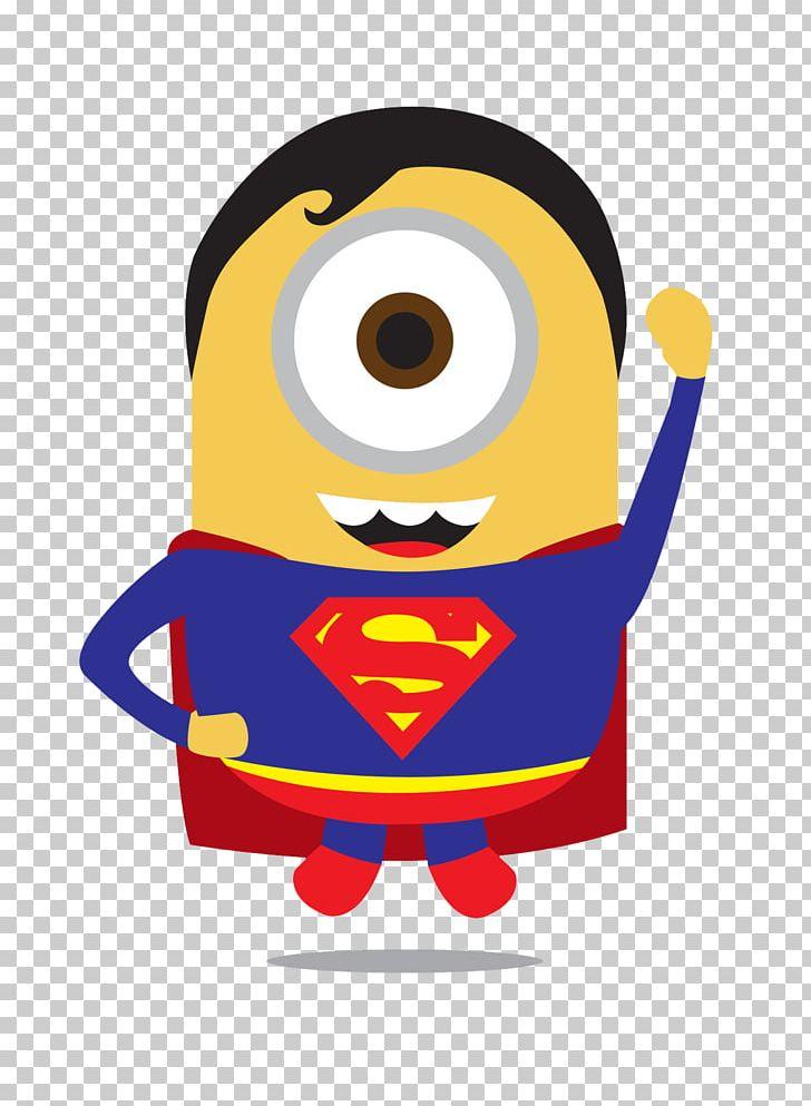 Superman Batman Iron Man Thor Minions Png Clipart Batman