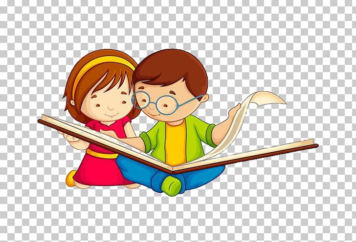 Child Reading Book Png Clipart Free Png Download