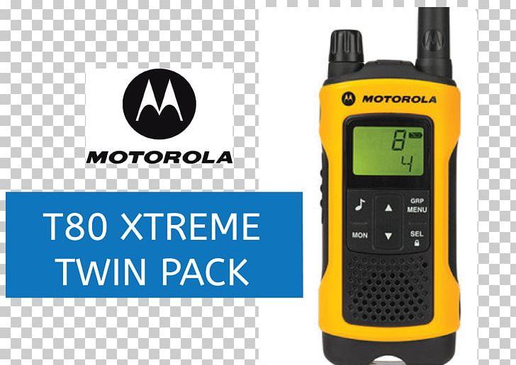 Two-way Radio PMR446 Motorola TLKR T80 Walkie Talkie Walkie-talkie PNG, Clipart, Brand, Business, Electronic Device, Electronics, Hardware Free PNG Download