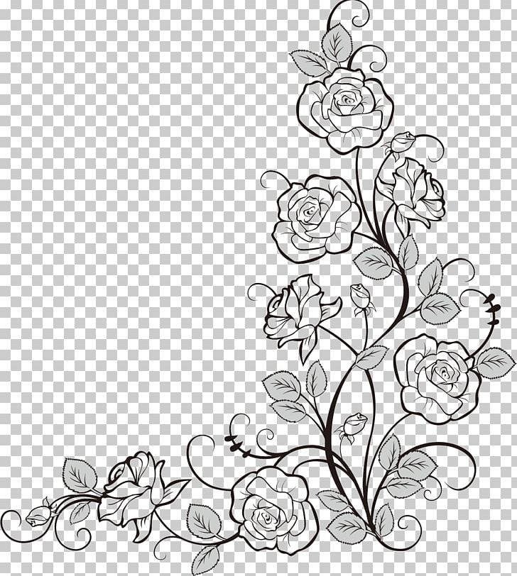 Doodle Coloring Book Flower Drawing PNG, Clipart, Artwork ...
