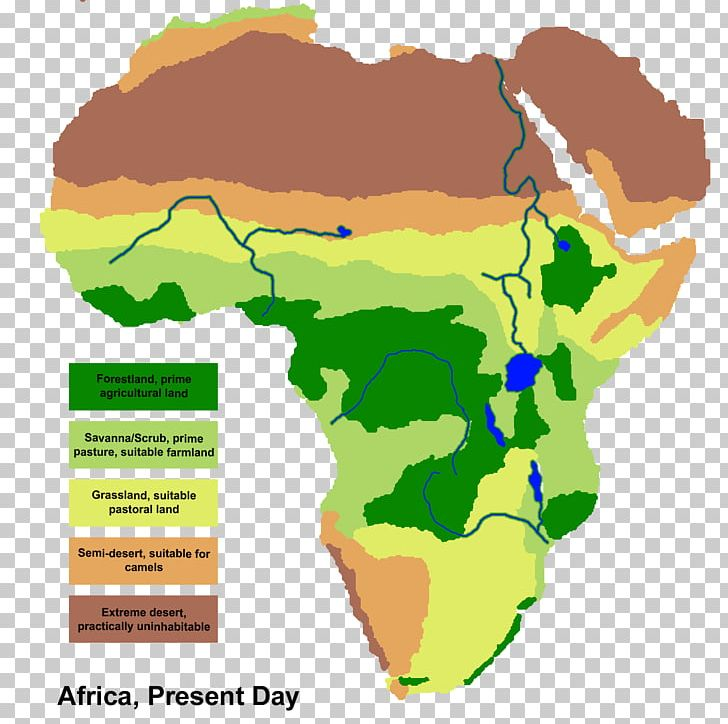 Africa Savanna Map Grassland Geography PNG, Clipart, Africa, Area