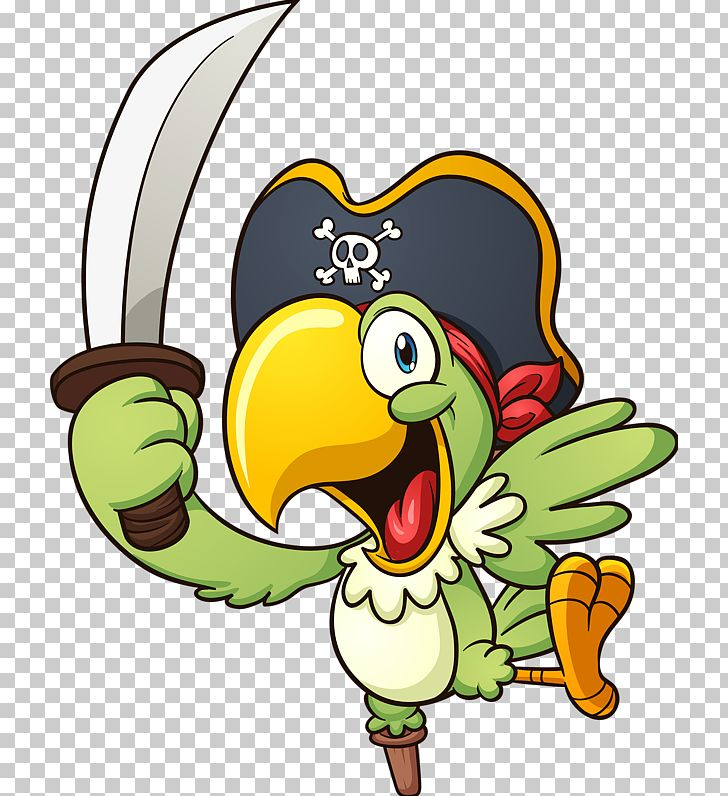 Parrot Piracy PNG, Clipart, Animals, Animation, Art, Beak, Big Knife Free PNG Download