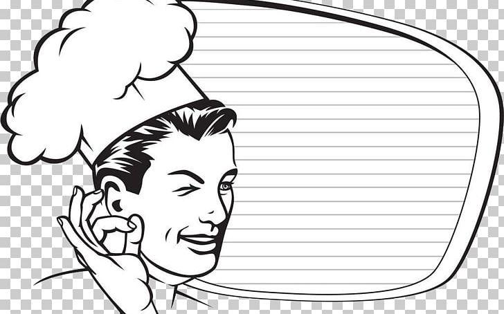 Chef Cook Restaurant Gratis PNG, Clipart, Arm, Black, Cartoon, Chef, Cook Free PNG Download