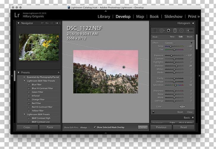 Adobe Lightroom Graduated Neutral-density Filter Photographic Filter Camera Lens PNG, Clipart, Adobe Lightroom, Adobe Systems, Basics, Brand, Brush Free PNG Download