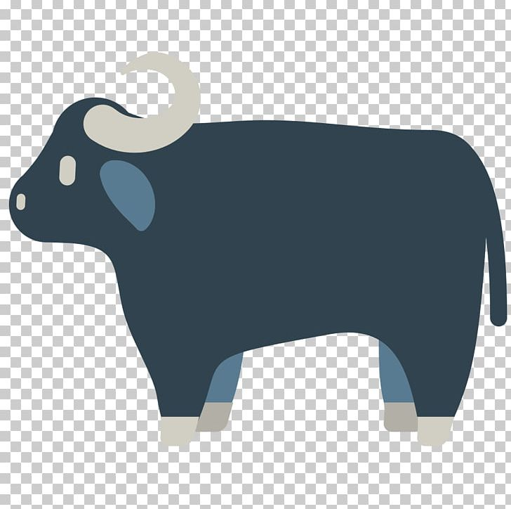 Cattle Water Buffalo Emoji Ox American Bison PNG, Clipart