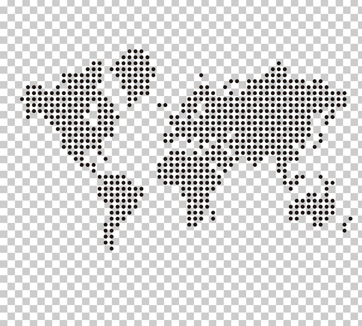 World Map Globe PNG, Clipart, Black, Black And White, Dot, Dots, Dotted Free PNG Download