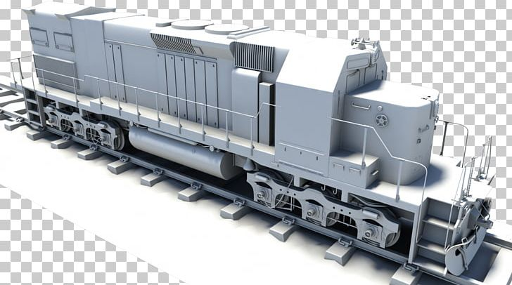 Steam Locomotive Train Diesel Locomotive Autodesk Maya PNG, Clipart