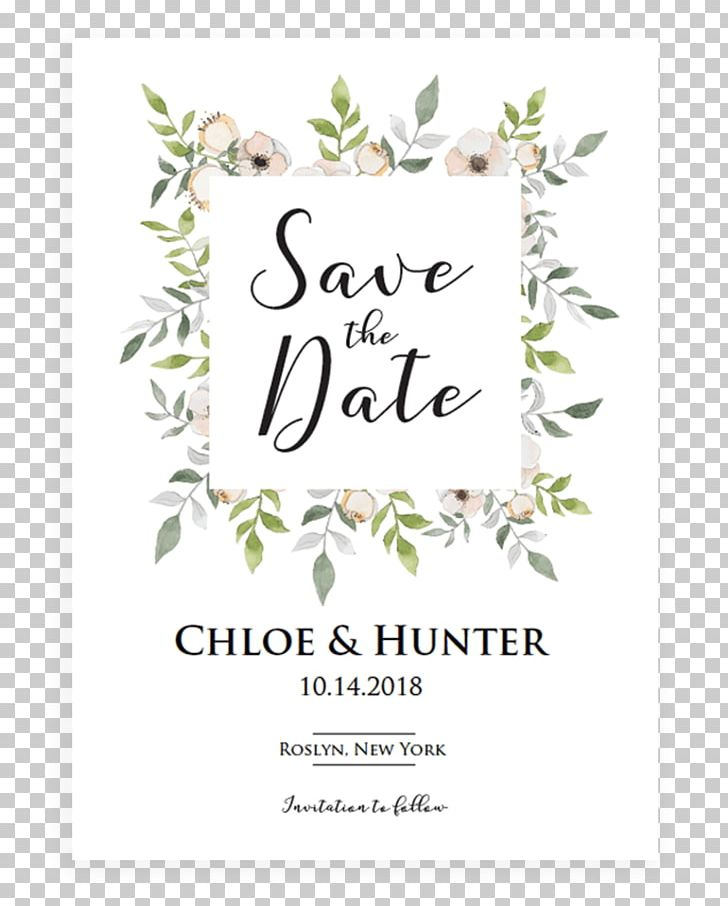 Wedding Invitation Save The Date Flower Floral Design PNG Clipart