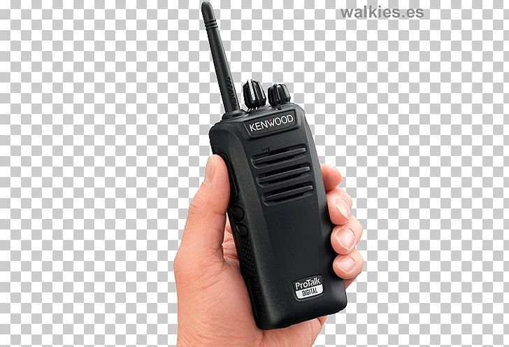 PMR446 Walkie-talkie Kenwood TK-3401D Digital Private Mobile Radio Two-way Radio PNG, Clipart, Analog Signal, Communication Channel, Communication Device, Digital Data, Digital Private Mobile Radio Free PNG Download