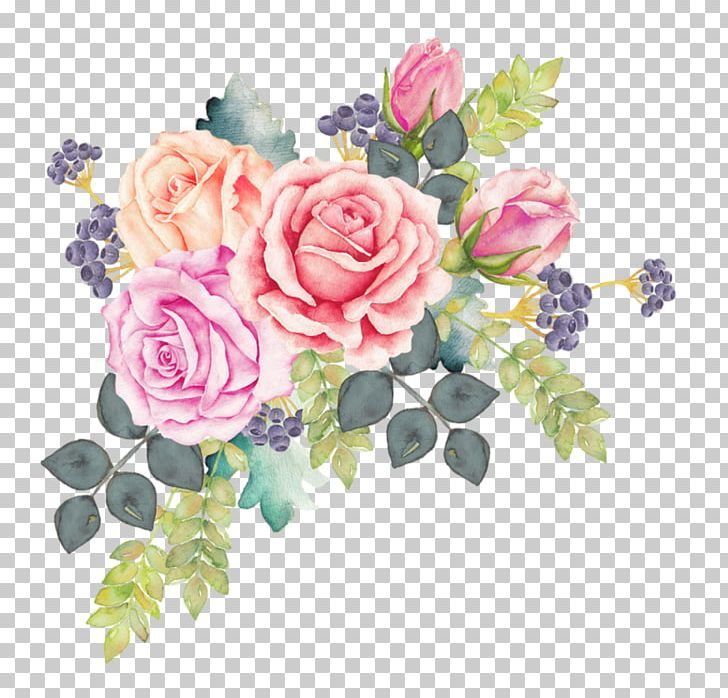 Cool Free Water Color Flower Clip Art