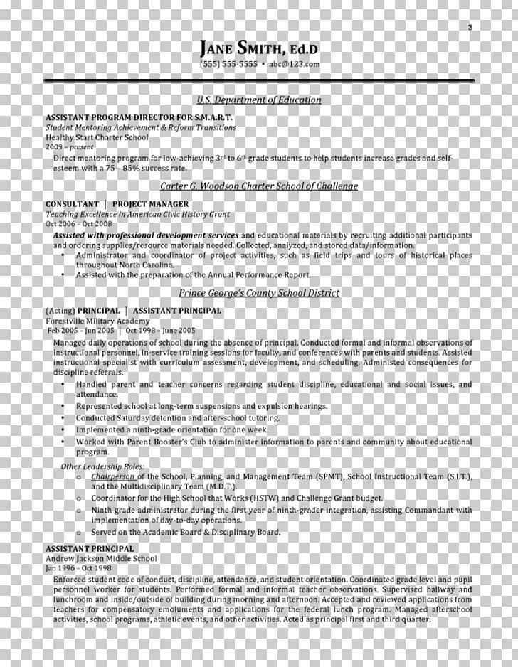 Resume Curriculum Vitae Cover Letter Education