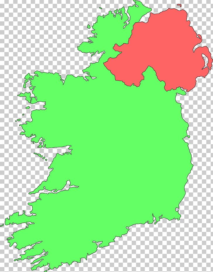 Republic Of Ireland World Map PNG, Clipart, Area, Blank Map, Contour ...