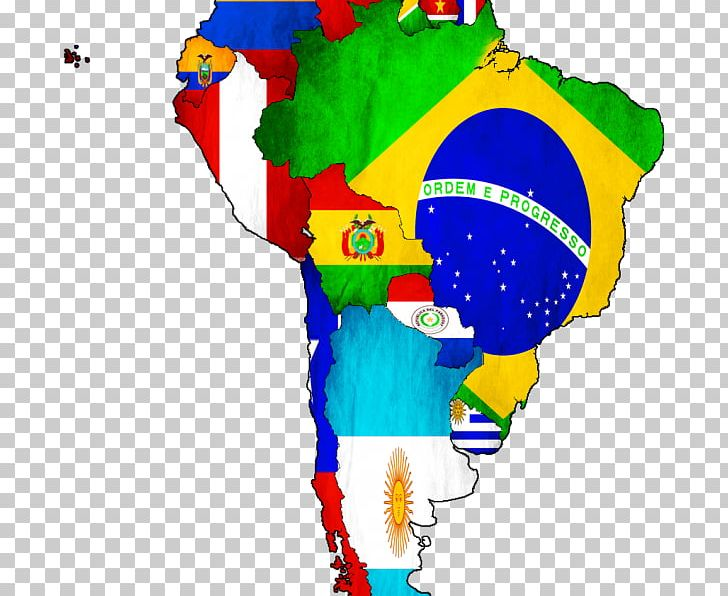 Flags Of South America United States Of America Continent Map PNG ...