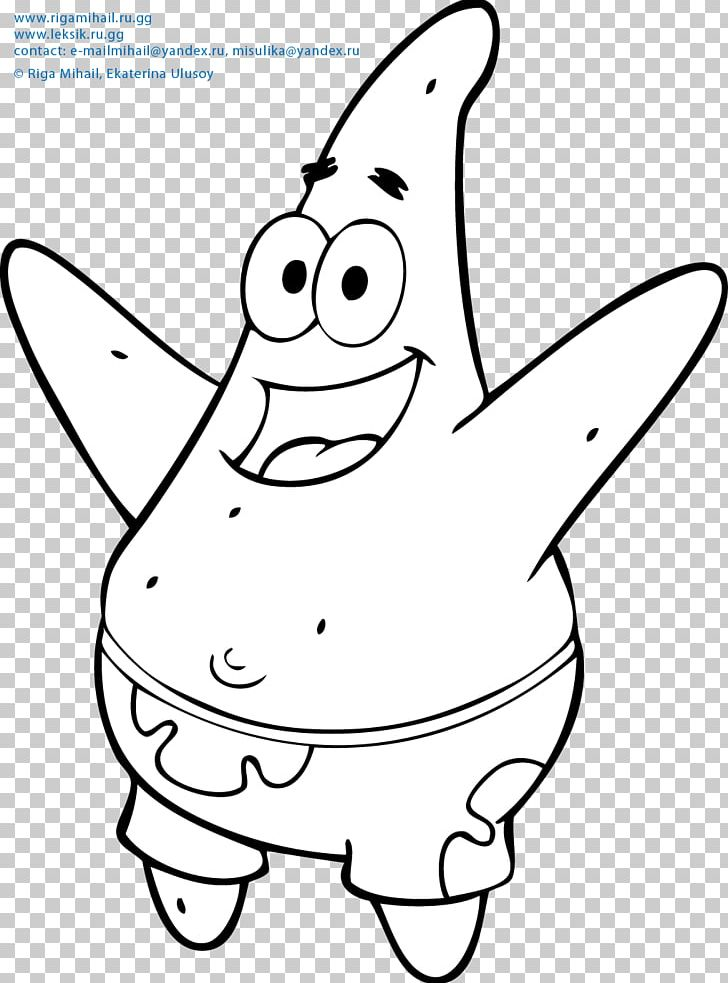 Patrick Star Coloring Book Child Animation Png Clipart Adult