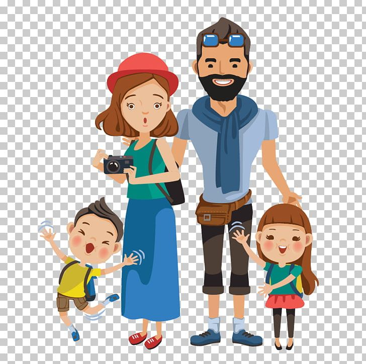 Tourism Tour Guide Travel Vacation Png Clipart Art Boy Cartoon Child Family Free Png Download