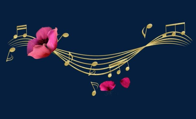 Music And Flowers PNG, Clipart, Flowers, Flowers Clipart, Music ...