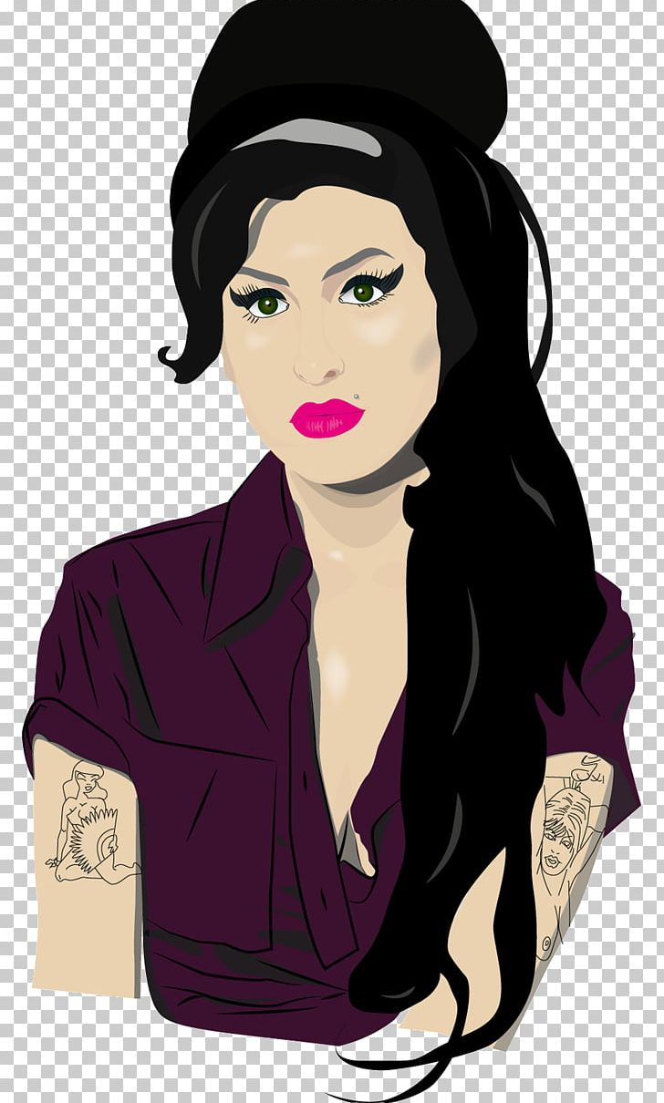Amy Winehouse Cartoon Png Clipart Album Cover Amy Amy Winehouse Art Beauty Free Png Download