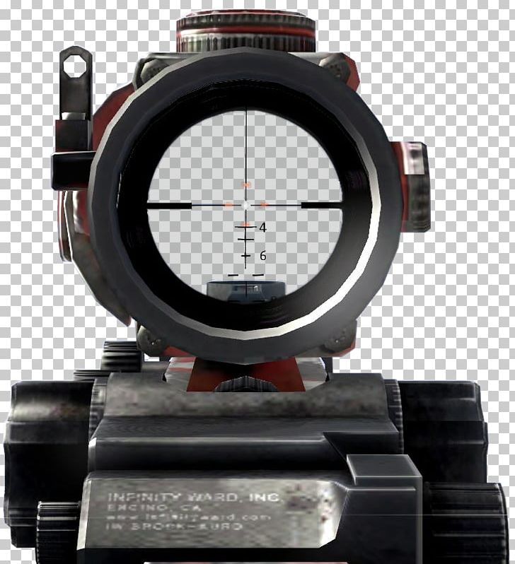 Advanced Combat Optical Gunsight Telescopic Sight Reflector Sight Call Of Duty: Modern Warfare 2 PNG, Clipart, Advanced Combat Optical Gunsight, Call Of Duty, Call Of Duty 4 Modern Warfare, Call Of Duty Modern Warfare 2, Hardware Free PNG Download