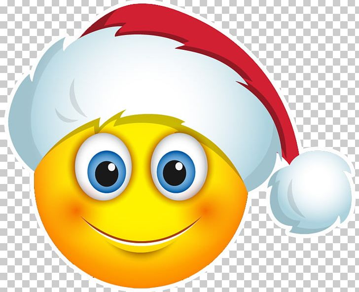 Christmas Emoji.Emoji Smiley Christmas Santa Claus Emoticon Png Clipart