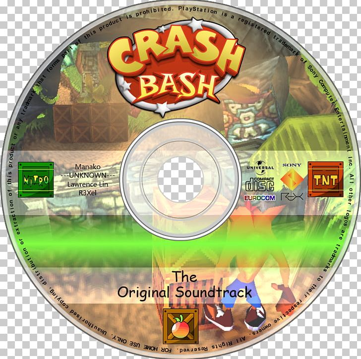 Crash Bash Compact Disc Television Show Alphabet Soundtrack