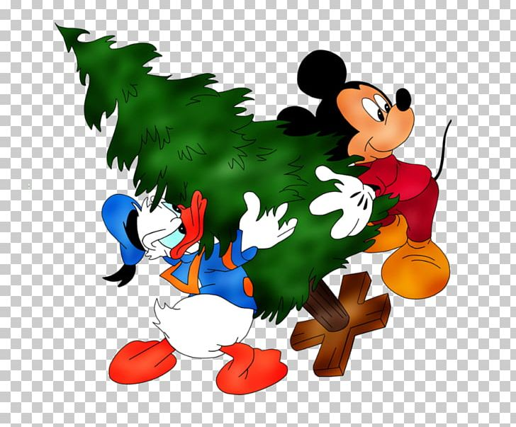Donald Duck Christmas.Mickey Mouse Minnie Mouse Donald Duck Christmas Png Clipart