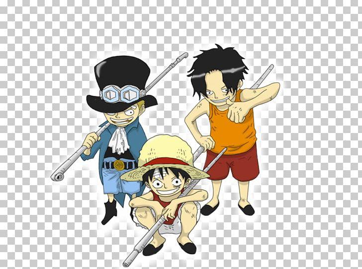 Monkey D. Luffy Portgas D. Ace Sabo Donquixote Doflamingo One Piece PNG, Clipart, Ace, Anime, Art, Cartoon, Chibi Free PNG Download