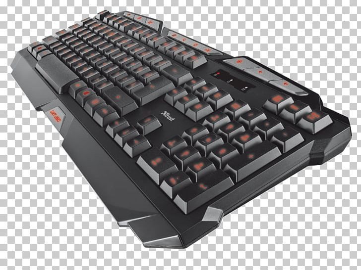 1ccf1415d2b Computer Keyboard ElectricalCentre 18915 Trust GXT 280 LED Illuminated Gaming  Keyboard PC / Mac PNG, Clipart, ...
