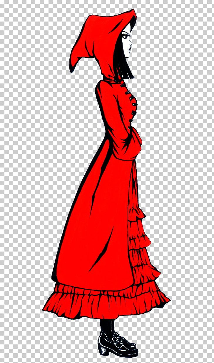 Little Red Riding Hood Dress Costume Design Png Clipart Free Png