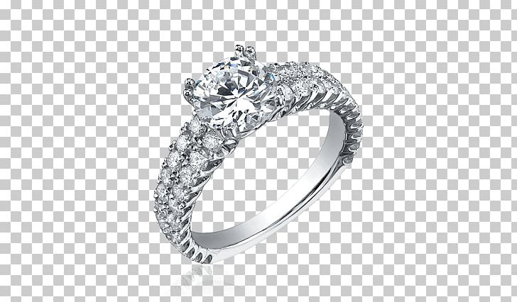 Silver Ring With Diamond Jewelry PNG, Clipart, Jewelry, Miscellaneous Free PNG Download